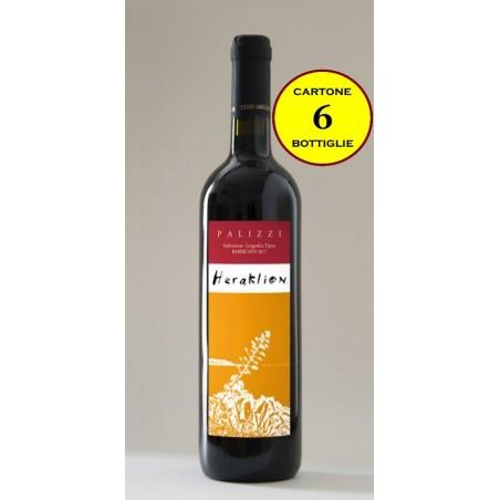 """Palizzi Rosso IGT Barricato """"Heraklion"""" - Terre Grecaniche (6 bottiglie)"""