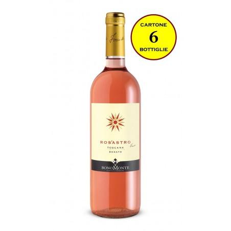 "Toscana IGT Rosato 2018 ""Ros'Astro"" - Tenuta Bonomonte (6 bottiglie)"
