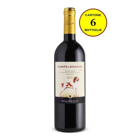 """Toscana IGT Rosso 2013 """"Camp'Albracco"""" - Tenuta Bonomonte (6 bottiglie)"""