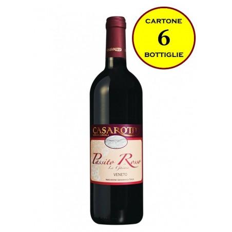"""Passito Rosso Veneto IGT """"Le Ghiaie"""" - Casarotto (6 bottiglie)"""
