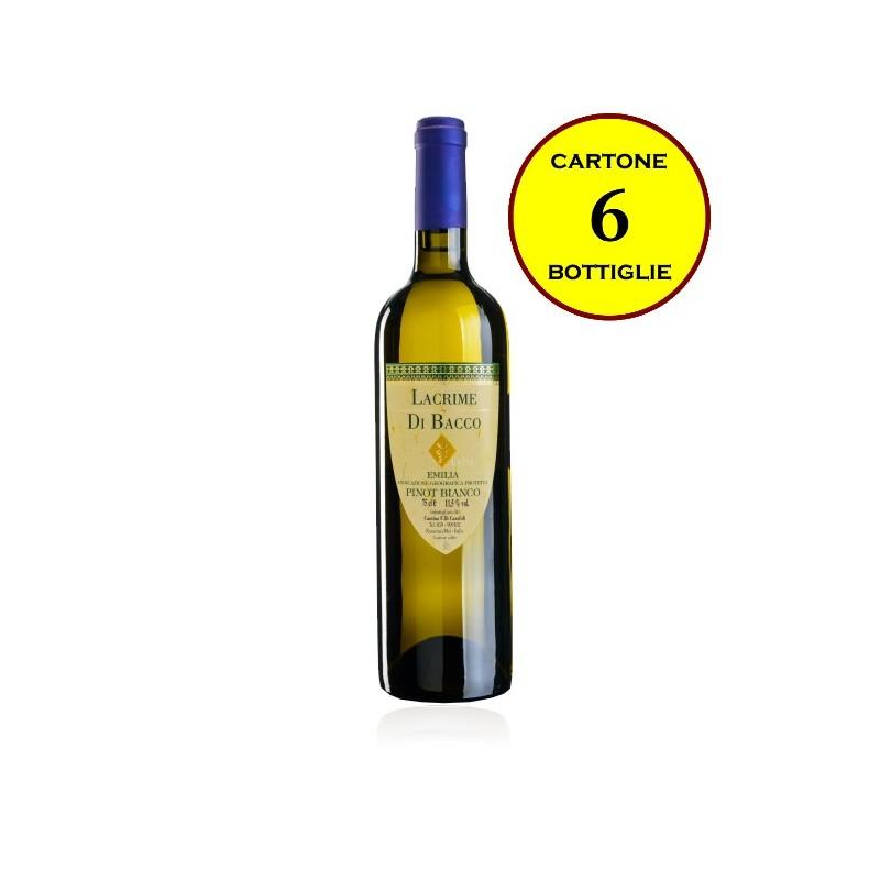 "Pinot Bianco Emilia IGP tranquillo ""Lacrime di Bacco"" - Cantina Fratelli Carafoli"