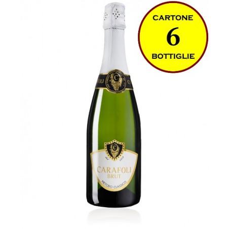 "Spumante Brut Metodo Classico ""Carafoli Brut"" - Cantina Fratelli Carafoli (6 bottiglie)"