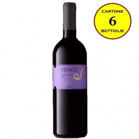 """Nero d'Avola Sicilia IGT """"Sense"""" - Di Bella Vini (cartone da 6 bottiglie)"""