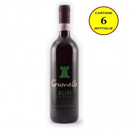 Grumello Valtellina Superiore DOCG - Rupi del Nebbiolo (cartone da 6 bottiglie)