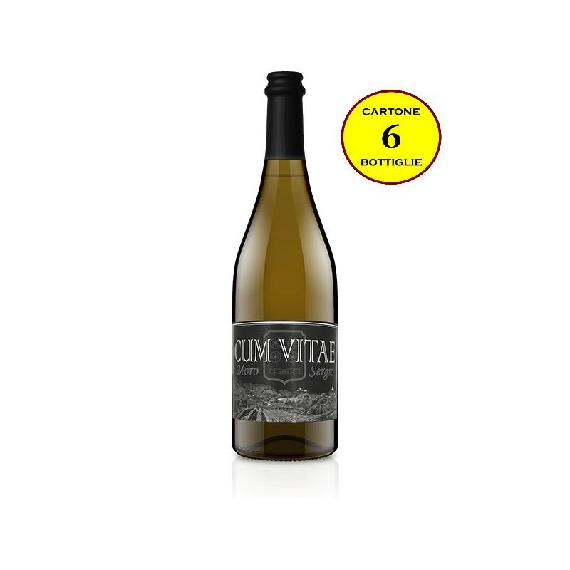 """Vino Bianco Frizzante COL FONDO """"Cum Vitae"""" - Moro Sergio"""