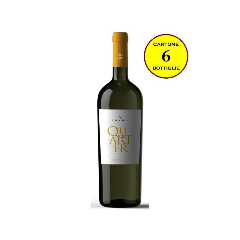 "Terre Siciliane IGT Bianco ""Quarter"" - Costantino Wines"