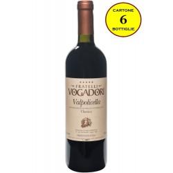 Valpolicella DOC Classico 2016 - Fratelli Vogadori (cartone da 6 bottiglie)