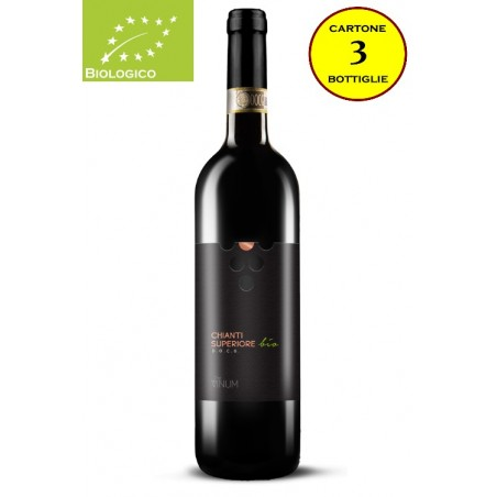 Chianti Superiore DOCG Bio - The Vinum (cartone da 3 bottiglie)