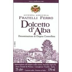 Dolcetto d'Alba DOC 2016 - Fratelli Ferro