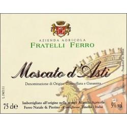 Moscato d'Asti DOCG 2016 - Fratelli Ferro