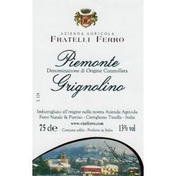 Piemonte Grignolino DOC 2016 - Fratelli Ferro