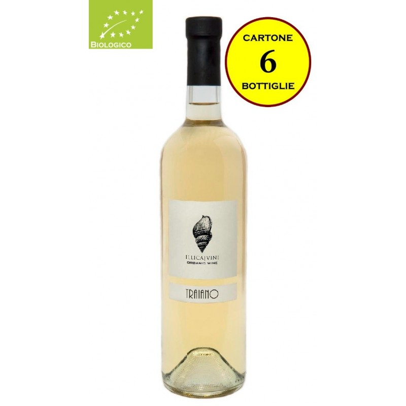 """Bianco del Piacentino fermo Biologico 2015 """"Traiano"""" - Illica Vini"""