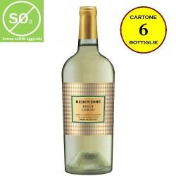 Pinot Grigio delle Venezie IGT Linea Redentore (senza solfiti aggiunti) - De Stefani