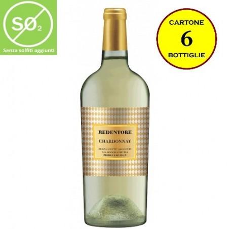 Chardonnay Trevenezie IGT Linea Redentore (senza solfiti aggiunti) - De Stefani (cartone da 6 bottiglie)