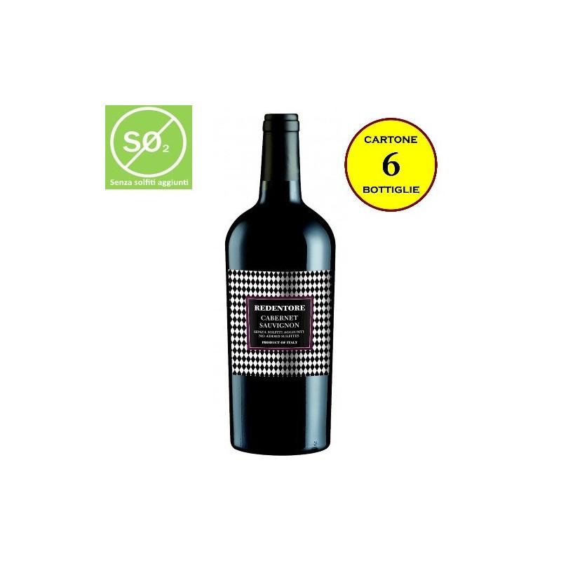 Cabernet Sauvignon delle Venezie IGT Linea Redentore (senza solfiti aggiunti) - De Stefani