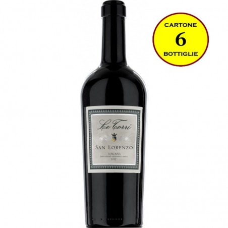 "Toscana Rosso IGT ""San Lorenzo"" - Le Torri (6 bottiglie)"