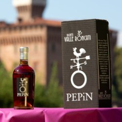 "Rosso da uve Nebbiolo stramature appassite""Pepin"" (ASTUCCIATO) - Vigneti Valle Roncati"
