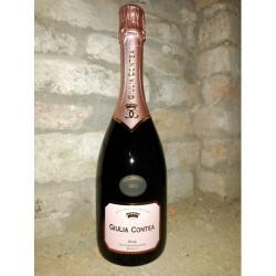 """Spumante Brut Rosé Millesimato 2014 VSQ Metodo Classico """"Giulia Contea"""" - La Casanella"""