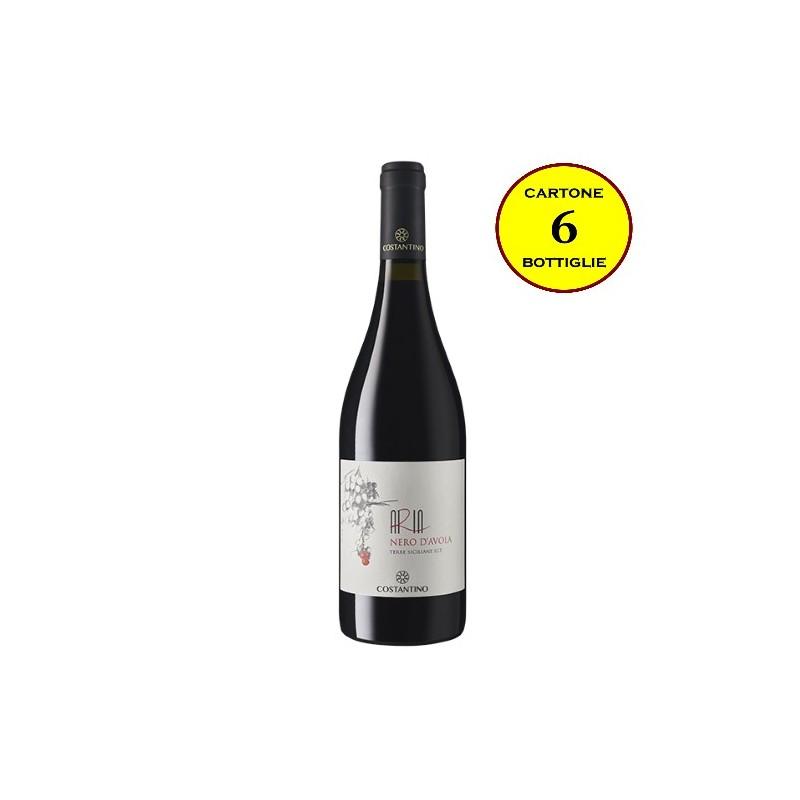 "Nero d'Avola Terre Siciliane IGT ""Aria Siciliana"" - Costantino Wines"