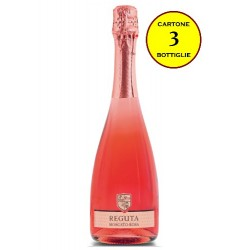 Moscato Rosa Spumante Dolce - Reguta (cartone 3 bottiglie)