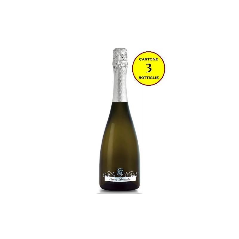"""Spumante Extra Dry """"Cuvée Blanche"""" - Reguta (cartone 3 bottiglie)"""