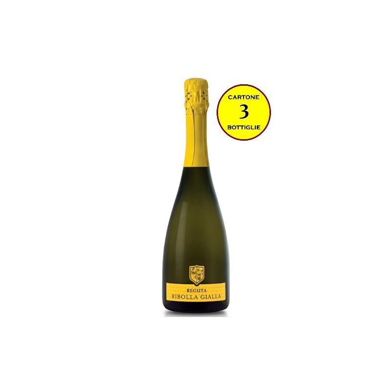 Ribolla Gialla Spumante Extra Dry - Reguta (cartone 3 bottiglie)