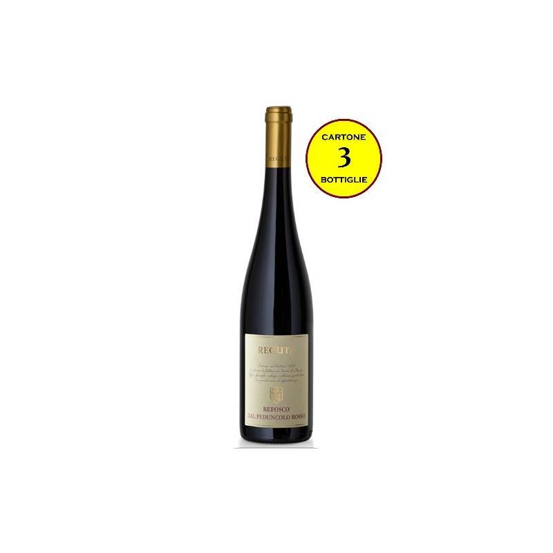 Refosco dal Peduncolo Rosso Trevenezie IGP 2017 - Reguta (cartone 3 bottiglie)