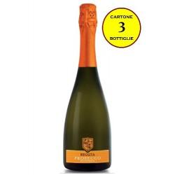 Prosecco DOC Spumante Extra Dry Millesimato 2017 - Reguta (cartone 3 bottiglie)