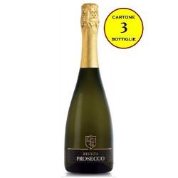 Prosecco DOC Spumante Extra Dry - Reguta (cartone 3 bottiglie)