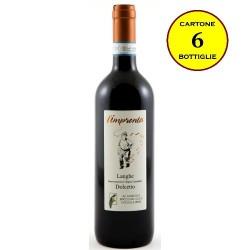 """Dolcetto Langhe DOC """"L'Impronta"""" - Bricco del Cucù (cartone da 6 bottiglie)"""