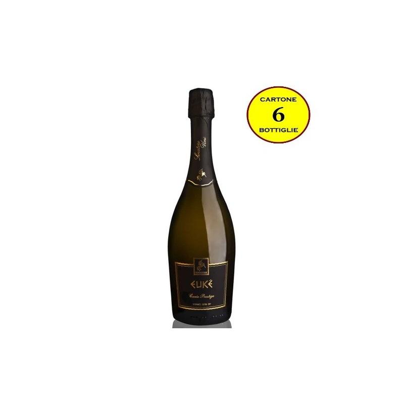 "Spumante Extra Dry IGP Calabria Bianco ""Eukè Cuvée Prestige"" - Senatore Vini (6 bottiglie)"