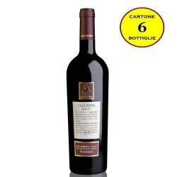 Gaglioppo Merlot Calabria Rosso IGP - Senatore Vini (6 bottiglie)