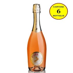 """Spumante Brut IGP Calabria Rosé """"Eukè"""" - Senatore Vini (6 bottiglie)"""