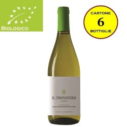 """Pecorino Lazio IGT Biologico """"Il Trovatore"""" - Tenuta Colfiorito (cartone da 6 bottiglie)"""