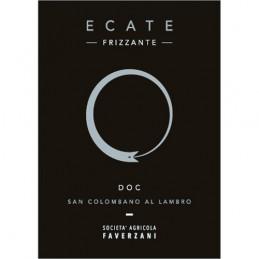 """San Colombano DOC Rosso frizzante """"Ecate Frizzante"""" - Vigneto Faverzani"""