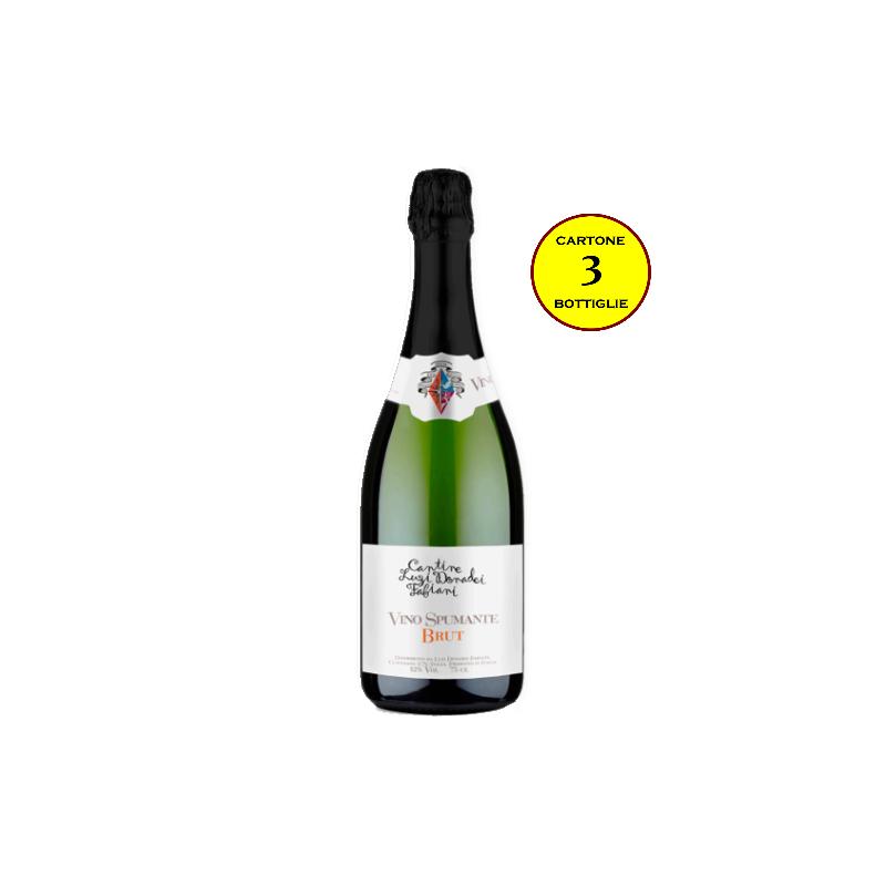 Spumante Brut - Cantine Luzi Donadei Fabiani (cartone 3 bottiglie)