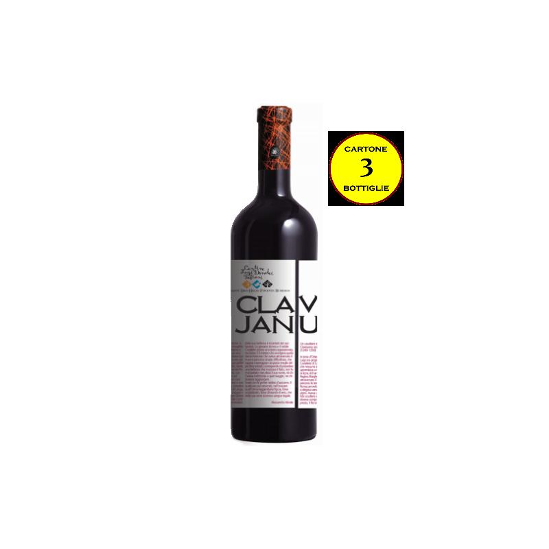 "Barbera d'Alba DOC ""Claves Januae"" - Cantine Luzi Donadei Fabiani (cartone 3 bottiglie)"