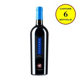 "Syrah Toscana Rosso IGT ""Téspero"" - Carus Vini (cartone 6 bottiglie)"