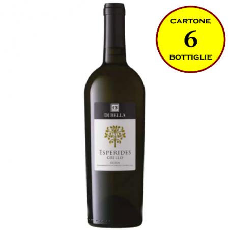 """Grillo Sicilia DOC """"Esperides"""" - Di Bella Vini (cartone da 6 bottiglie)"""