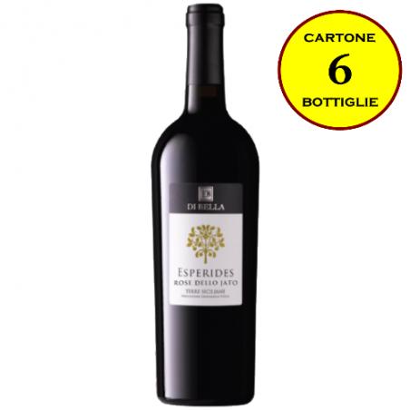 """Rosé dello Jato Terre Siciliane Rosato IGT """"Esperides"""" - Di Bella Vini (cartone da 6 bottiglie)"""