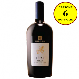 """Syrah Terre Siciliane IGT """"Jetas"""" - Di Bella Vini (cartone da 6 bottiglie)"""