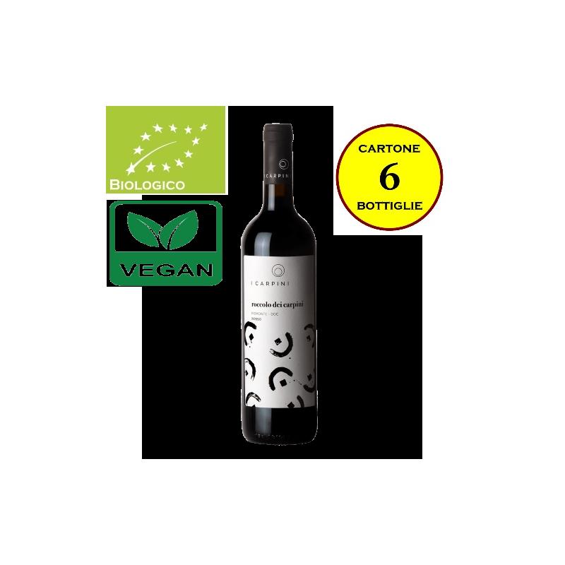 """Piemonte Rosso DOC """"Roccolo dei Carpini"""" - Cascina I Carpini (cartone da 6 bottiglie)"""