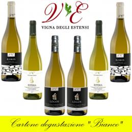 """Confezione degustazione """"Bianco"""" - Vigna degli Estensi (cartone da 6 bottiglie)"""