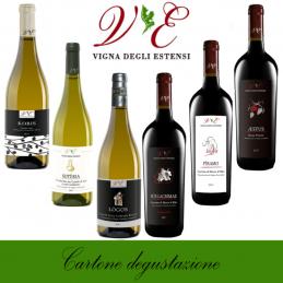Cartone degustazione - Vigna degli Estensi (cartone da 6 bottiglie)