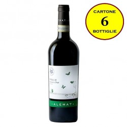 """Barbera d'Asti DOCG 2014 """"Praie"""" - Alemat (cartone da 6 bottiglie)"""