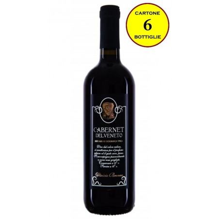 Cabernet Veneto IGT - Vinicio Bronzo (cartone da 6 bottiglie)