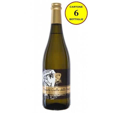 Moscato Giallo delle Venezie IGT Frizzante Dolce 2016 - Vinicio Bronzo (cartone da 6 bottiglie)