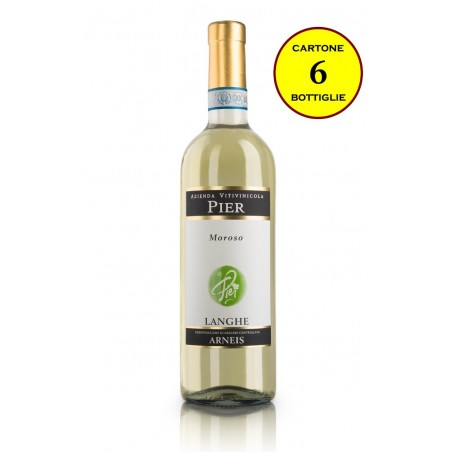 "Langhe Arneis DOC 2016 ""Moroso"" - Pier Azienda Vitivinicola (6 bottiglie)"