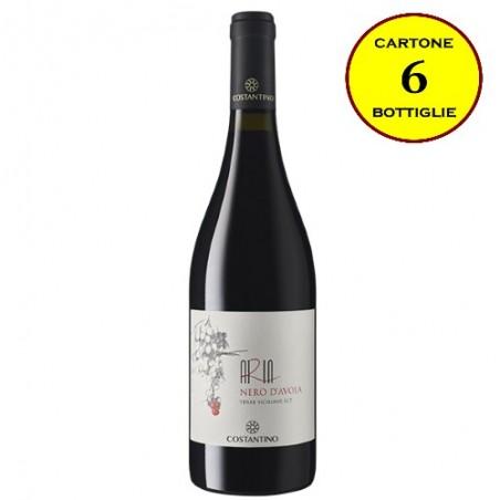 """Nero d'Avola Terre Siciliane IGT """"Aria Siciliana"""" - Costantino Wines (cartone da 6 bottiglie)"""