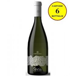 """Bianco di Sicilia Frizzante """"Sbriu"""" - Costantino Wines (cartone da 6 bottiglie)"""